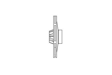 Rotor Noryl® 110 S = Ø 110mm (1/2cv)